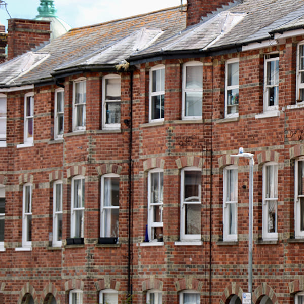 Terraced Houses in the UK